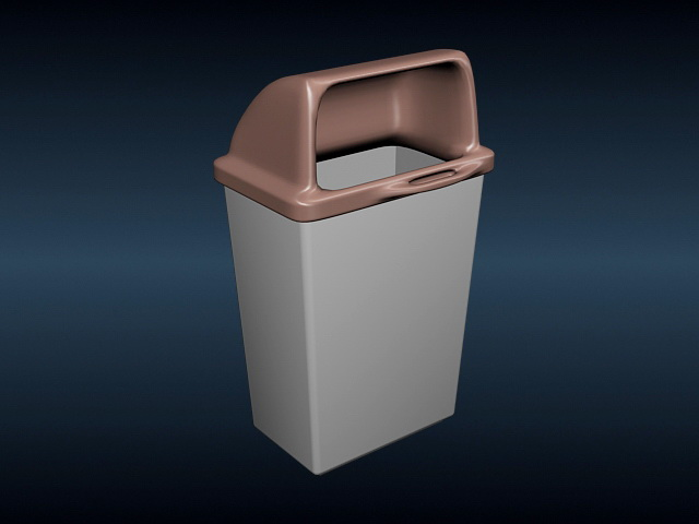 Plastic Dustbin 3d Model 3ds Max Files Free Download