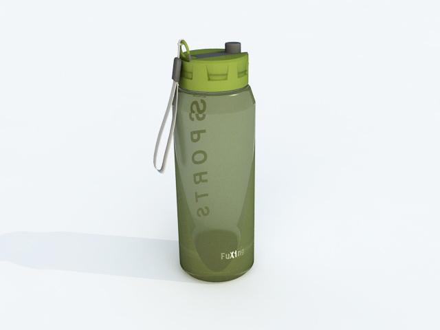 Sports Drink Bottle 3d model
