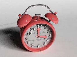 Cute Alarm Clock 3d model