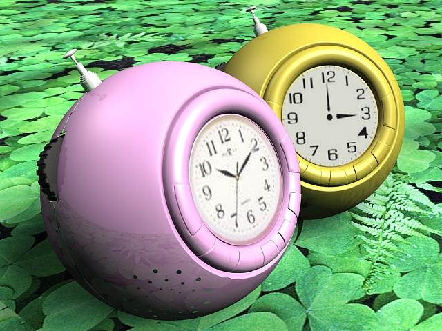 Funny Alarm Clocks 3d model