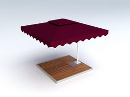 Outdoor Patio Umbrella 3d model