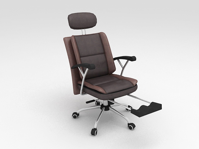 Comfortable Office Chair 3d model