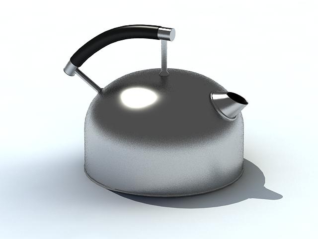 Pot Kettle 3d model
