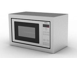 Bosch Microwave 3d model
