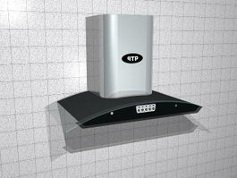 Kitchen Range Hood 3d model