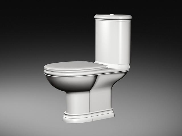 Flush Toilet 3d model