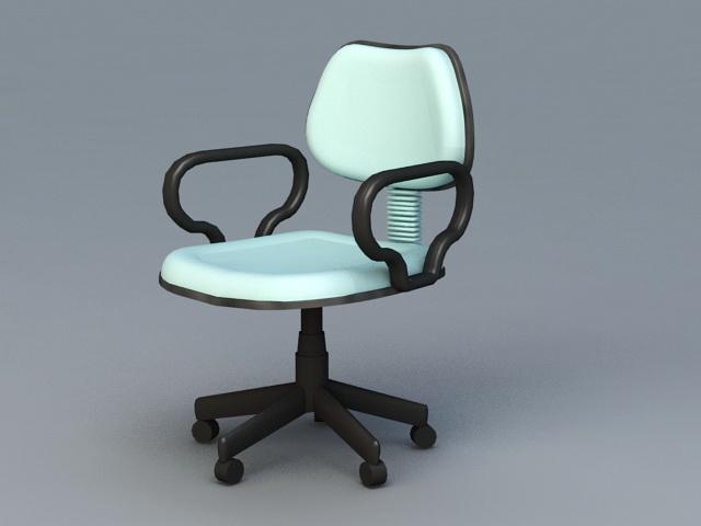 Ergonomic Desk Chair 3d model