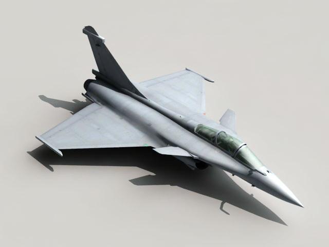 Dassault Rafale Fighter Jet 3d model