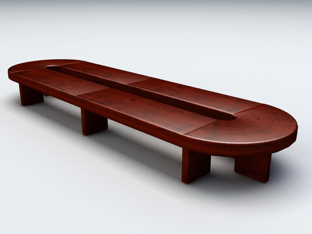Conference Room Tables 3d model