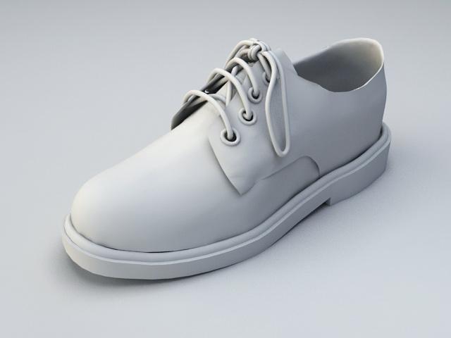 Formal Dress Shoe 3d model