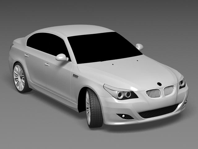 BMW Sedan 3d model