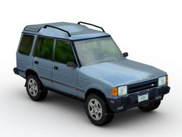 Land Rover LR3 3d model