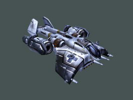 Medivac Dropship 3d model