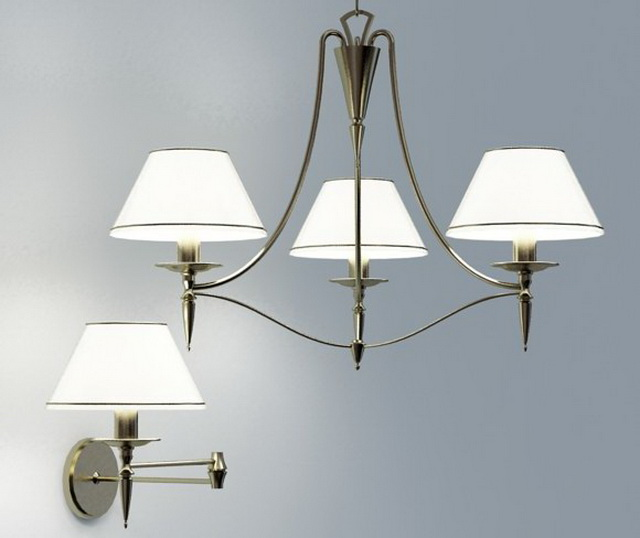 Industrial Ceiling Light 3ds Max: Classic Lighting Fixtures 3d Model 3ds Max Files Free