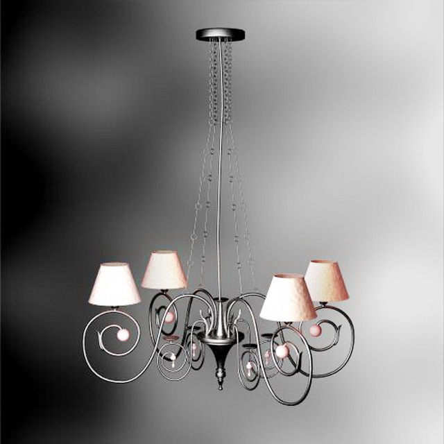 Classical Chandelier 3d model
