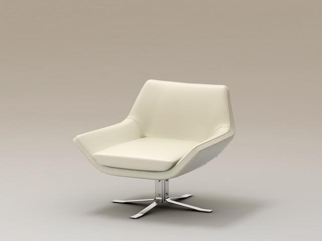 Modern Vanity Seat 3d model
