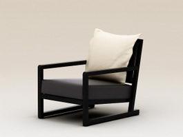 Modern Plank Armchair 3d model