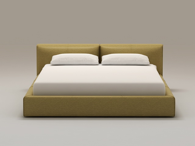 Contemporary Bed 3d model