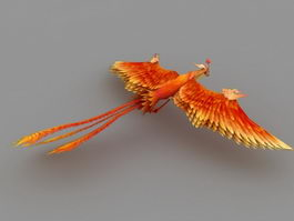 Mythical Phoenix 3d model