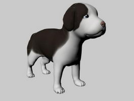Cute Mutt 3d model