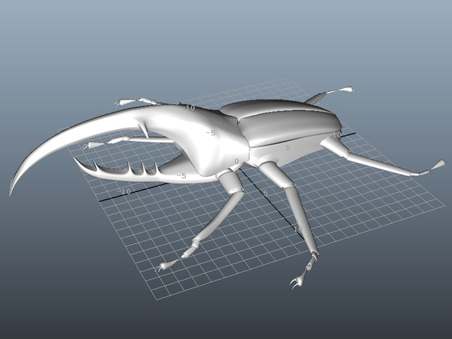 Robot Beetle 3d model