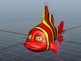 Nemo Fish Rig 3d model