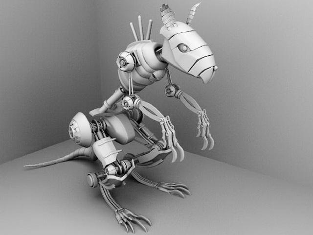 Robotic Mouse 3d model