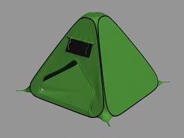Green Tent 3d model