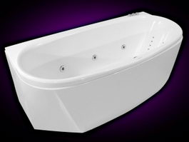 Whirlpool Bathtub 3d model