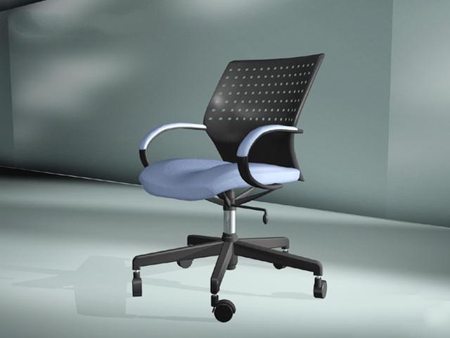 Ergonomic Computer Chair 3d model