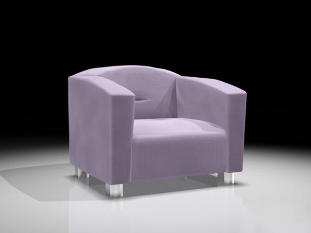 Modern Office Sofa 3d model