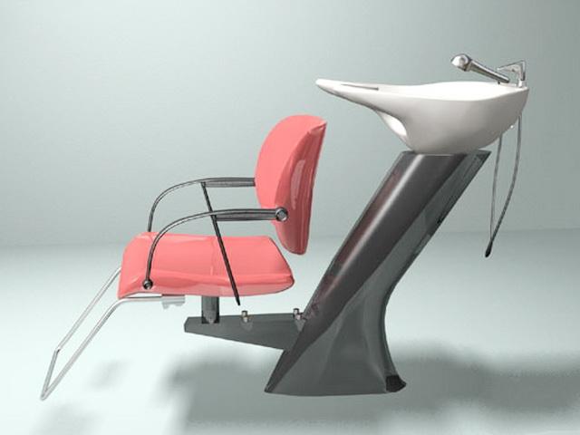 Salon Furniture 3d model free download - cadnav com