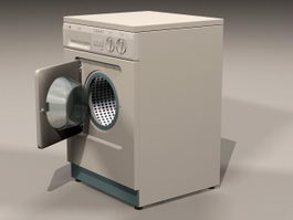 Front-loader Washing Machine 3d model