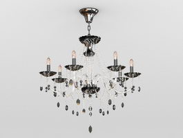 Dining Room Crystal Chandeliers 3d model