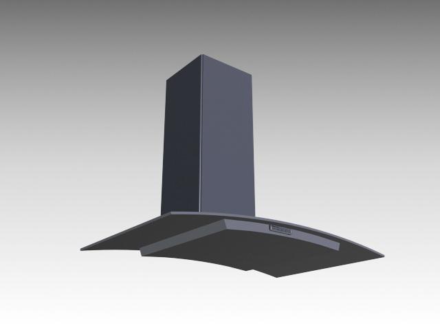 Kitchen Smoke Extractor 3d model
