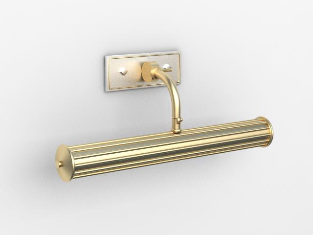 Bathroom Vanity Mirror Light 3d model