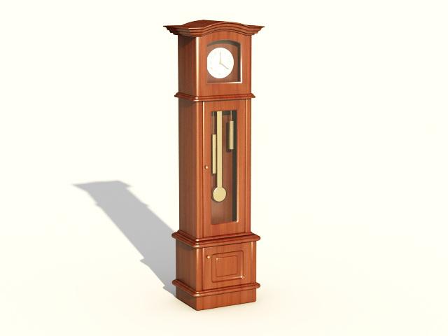 Mechanical Floor Clock 3d model