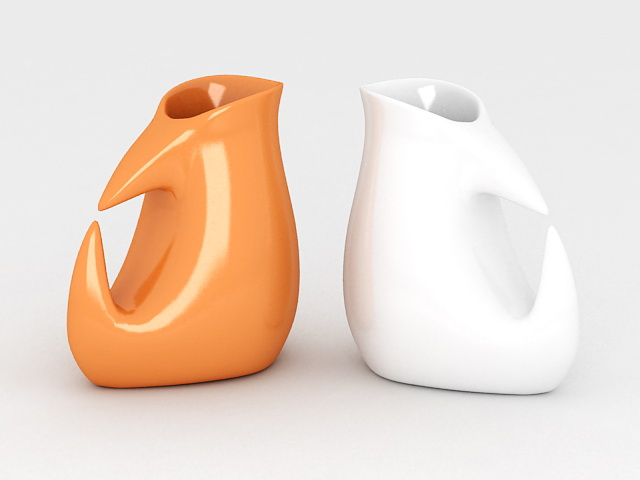 Modern Contemporary Vases 3d model
