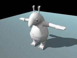 Cute Creature 3d model