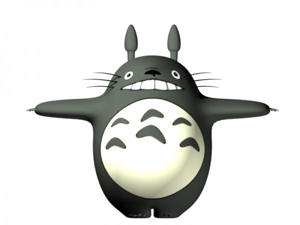 Totoro 3d model