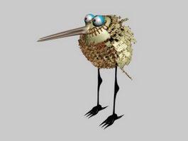 Small Bird 3d model