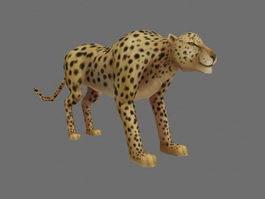 Mountain Leopard 3d model