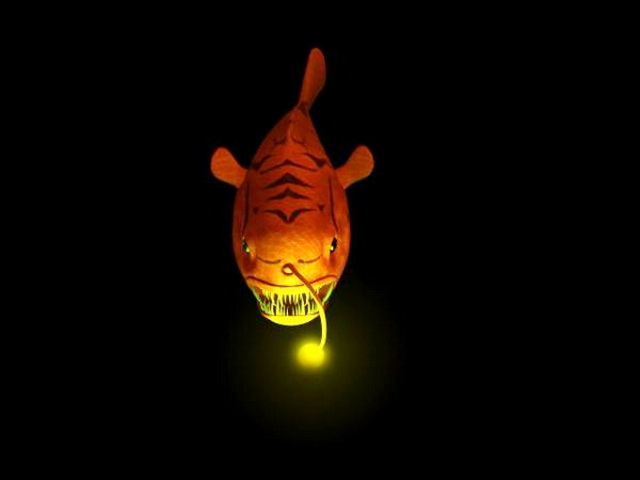 Deep-Sea Anglerfish 3d model