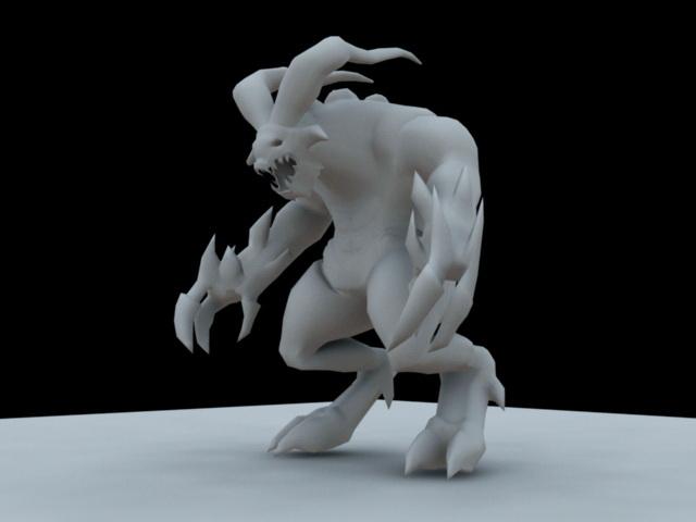 Devil Monster 3d model