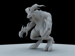 Devil Monster 3d model