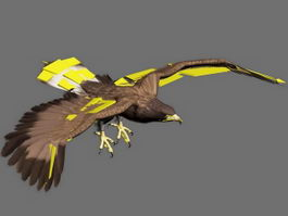 Golden Eagle Animation 3d model