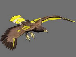 Golden Eagle Animation 3d model