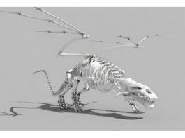 Dragon Skeleton 3d model