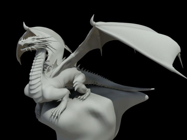 Heaven Dragon 3d model