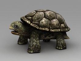 Cartoon Sea Turtle 3d model